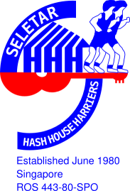 Seletar Hash House Harriers, Singapore (logo).